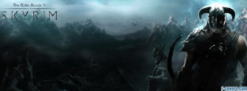 the elder scrolls v skyrim 1 facebook cover