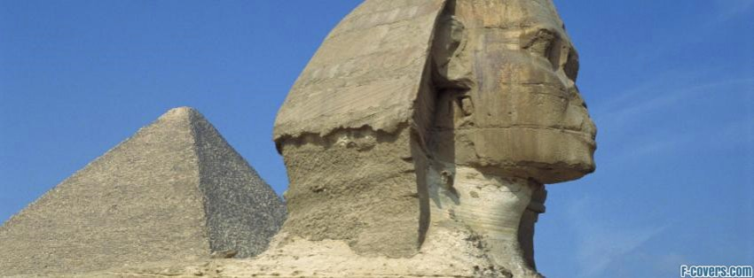 the great sphinx of giza facebook cover