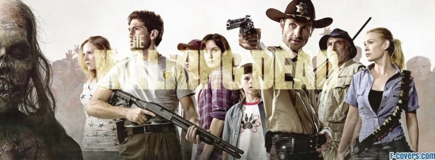 the walking dead 1 facebook cover