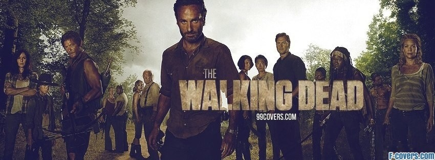 the walking dead 4 facebook cover