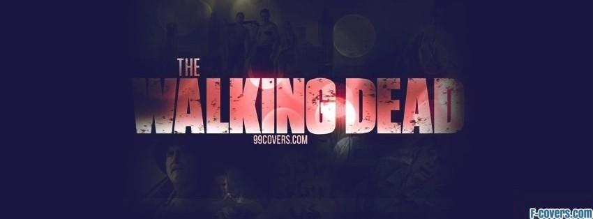 the walking dead logo facebook cover