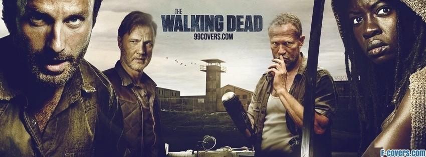 the walking dead season 3 facebook cover