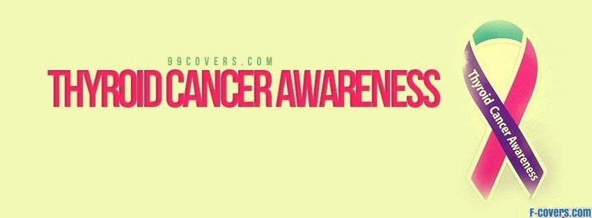 thyroid cancer awareness facebook cover