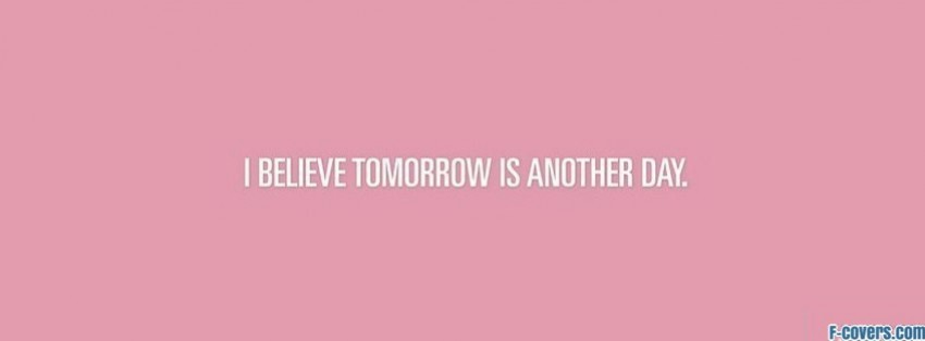 Tomorrow The Big Day Facebook Covers: Quotes Facebook Covers