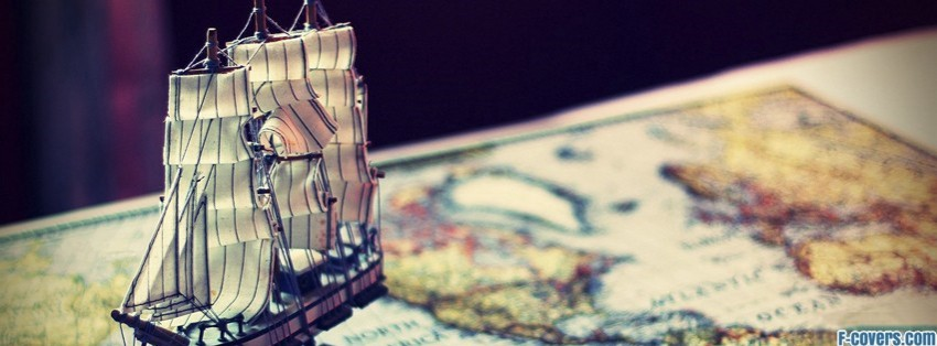 toy ship and map facebook cover timeline photo banner for fb