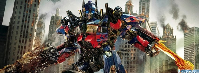 transformers dark side of the moonunknown facebook cover