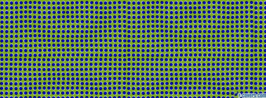 trippy blue green pattern Facebook Cover timeline photo banner for fb