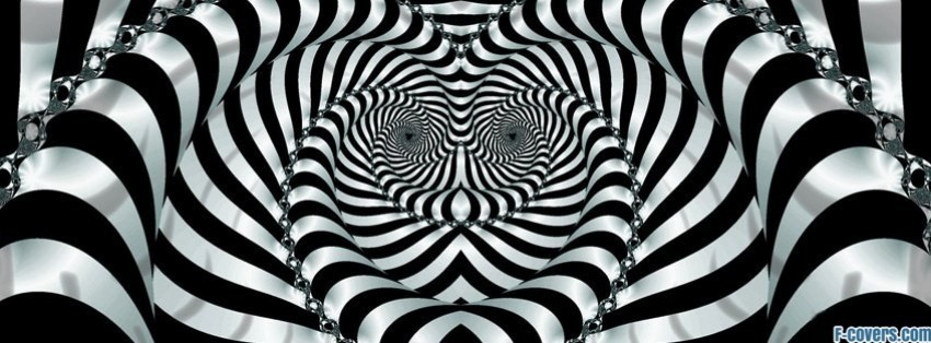 trippy zebra facebook cover