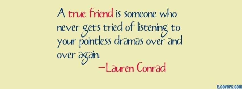 True Friend Quotes For Facebook. QuotesGram