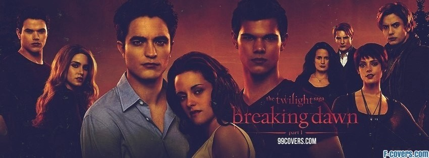 twilight breaking dawn facebook cover