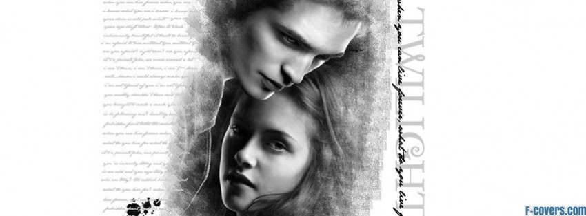 twilight edward and bella facebook cover