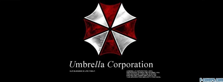 umbrella corporation resident evil facebook cover