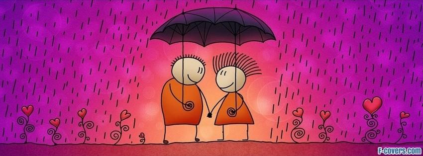 umbrella cute facebook cover timeline photo banner for fb