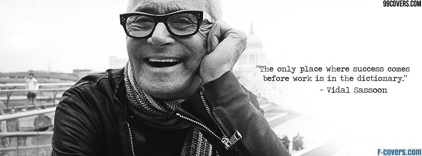 vidal sassoon facebook cover