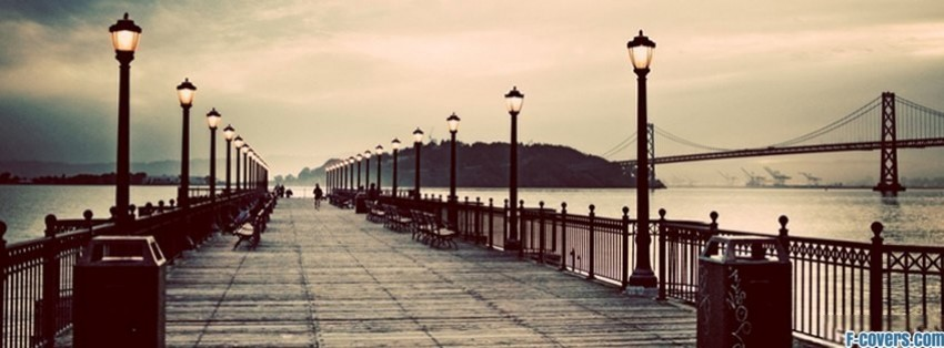 vintage bridges pier facebook cover