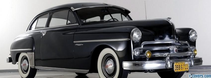 vintage car dodge facebook cover
