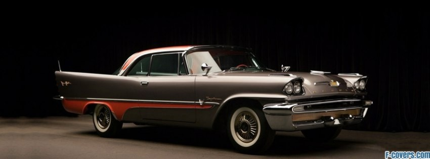 vintage ford thunderbird facebook cover