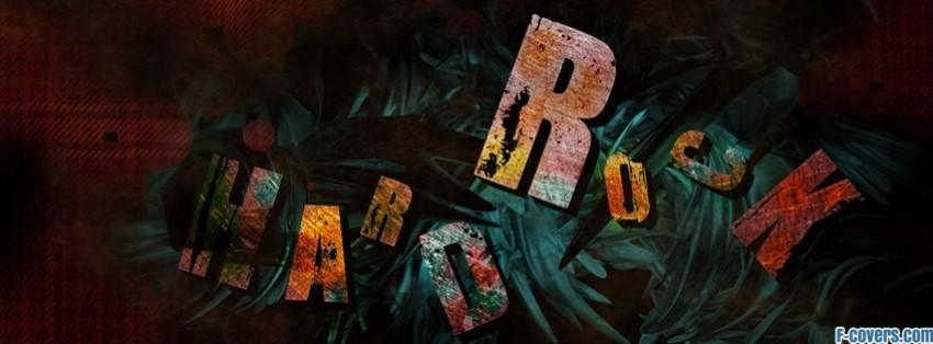 vintage hard rock music facebook cover