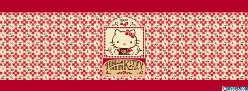 vintage hello kitty facebook cover
