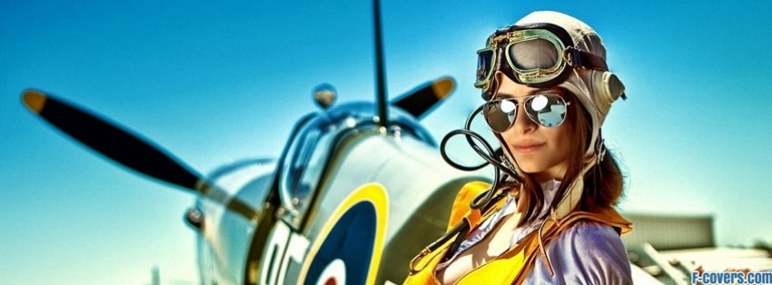 vintage pilot facebook cover
