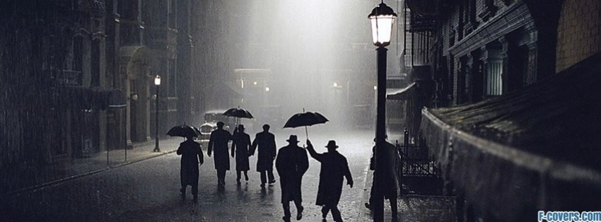 vintage rain Facebook Cover timeline photo