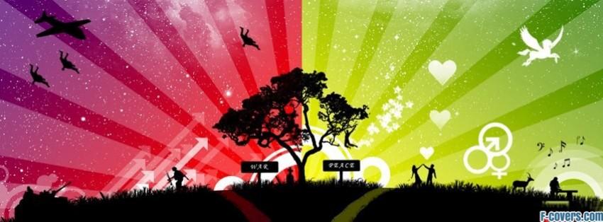 war peace facebook cover