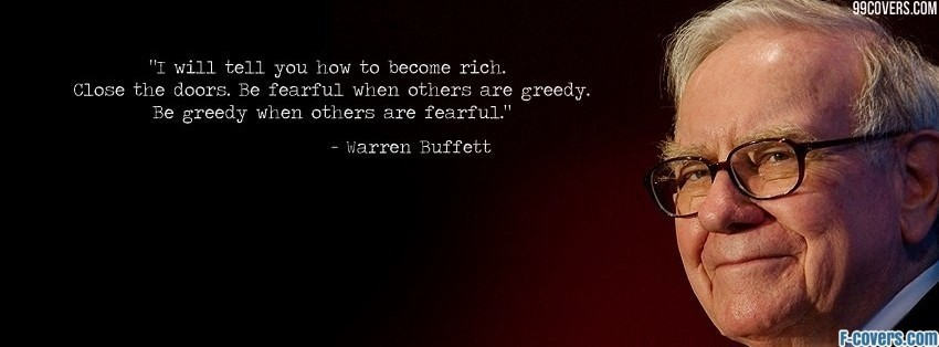 warren buffett facebook cover