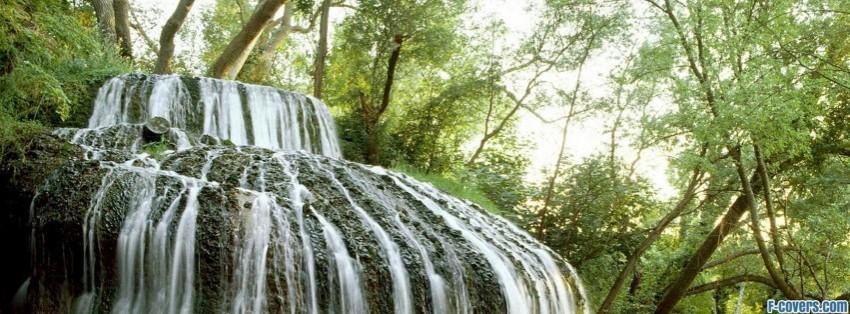 waterfalls computer brook falls facebook cover