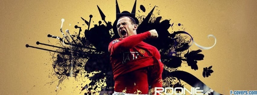 wayne rooney manchester united 3 facebook cover