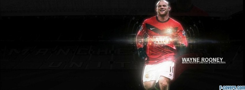 wayne rooney manchester united facebook cover