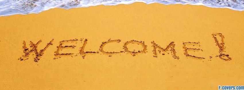 welcome sand facebook cover