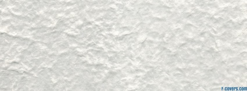 White Bumpy Texture Facebook Cover Timeline Photo Banner
