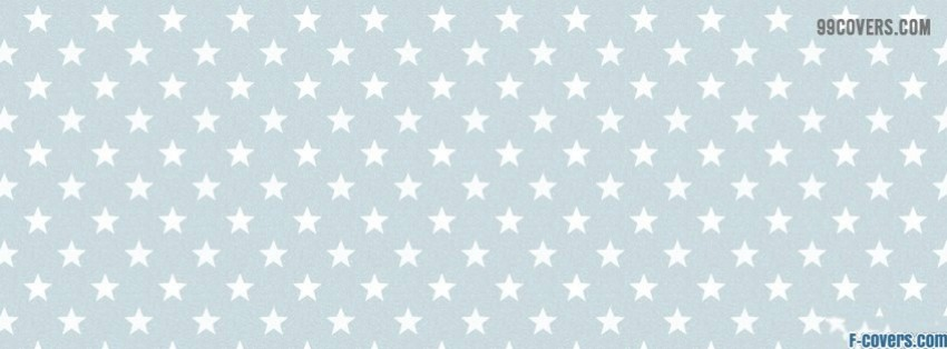 white stars facebook cover