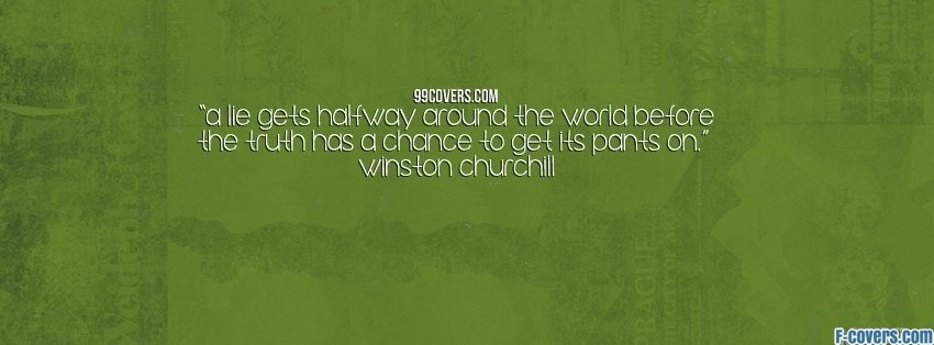 winston churchill facebook cover