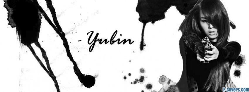 wonder girls yubin 2 facebook cover