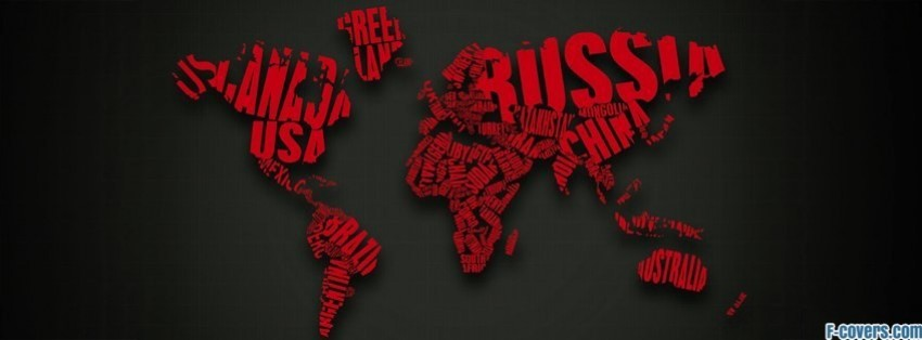 World map facebook cover timeline photo banner for fb world map facebook cover gumiabroncs Image collections