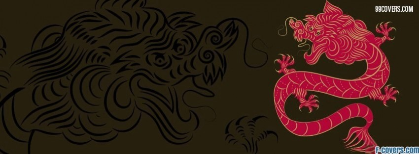 year of the dragon facebook cover