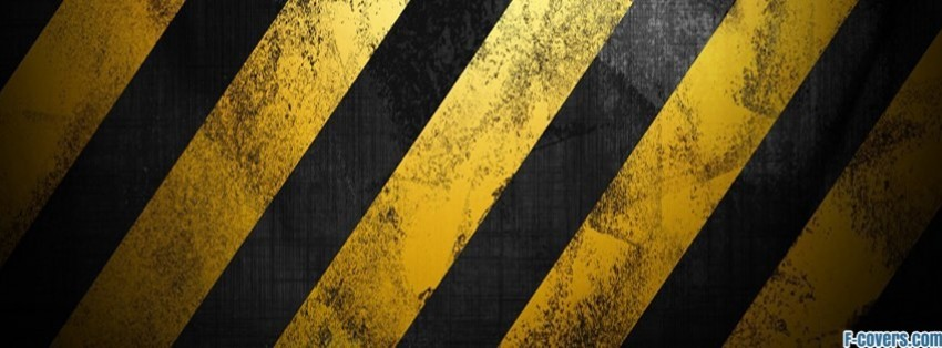 yellow black grunge striped texture pattern facebook cover