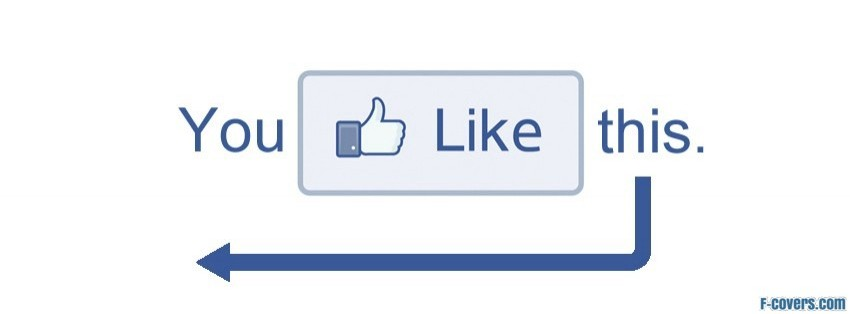 you like this facebook cover