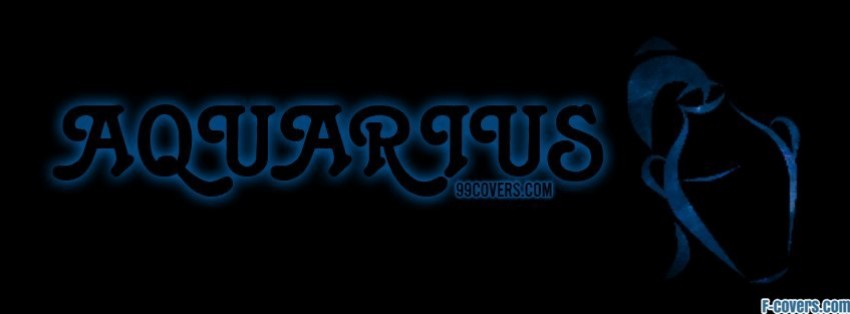 zodiac aquarius facebook cover