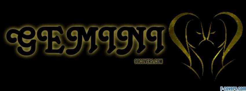 zodiac gemini facebook cover