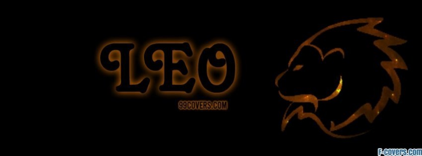 zodiac leo facebook cover
