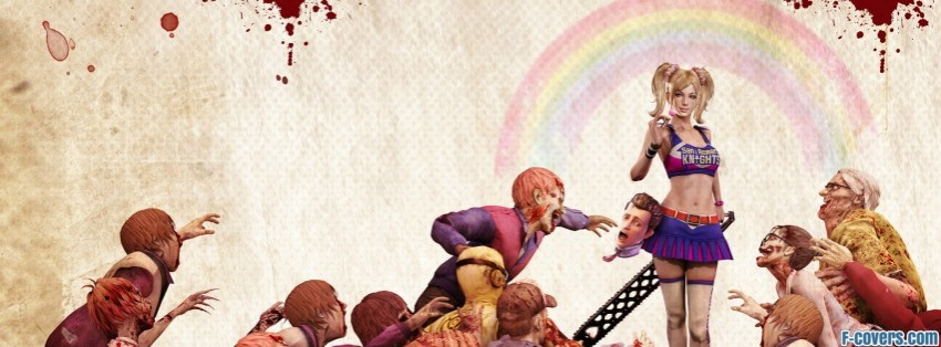 zombie lollipop chainsaw facebook cover