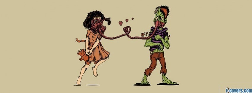 zombie love boyfriend facebook cover