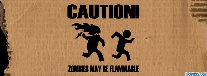 zombies funny facebook cover