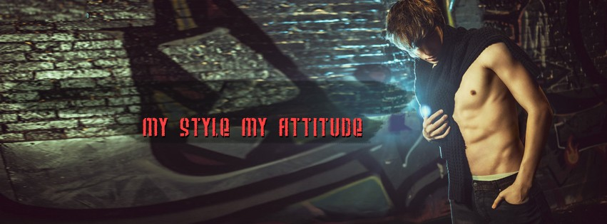 My Style Attitude Boy Facebook Cover