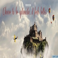 be optimistic facebook cover timeline photo banner for fb