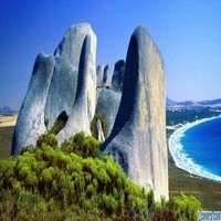 Eroded Granite Cheynes Beach Australia Facebook Cover