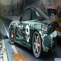 Need For Speed Prostreet Mazda Rx 7 Facebook Cover