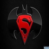 superman and batman logo facebook cover timeline photo